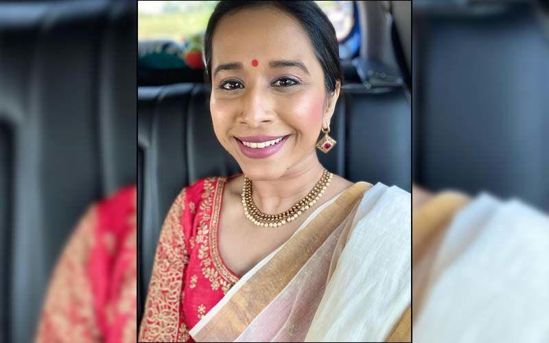 Shreya Bugde Is Setting New Style Goals In An Indo-Western Saree Look