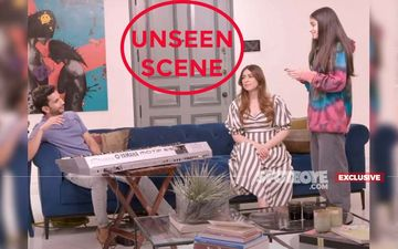 DELETED SCENE From The Fabulous Lives Of Bollywood Wives: Ananya Panday's Sister Flaunts Her Vocal Skills As Mummy Bhavana Cheers Her On- EXCLUSIVE