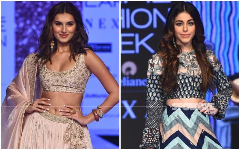 Lakme Fashion Week 2020, Day 4: Tara Sutaria's Simple Traditional Look Against Alaya F's Abstract Co-ord Set!