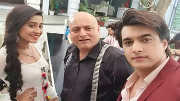 Yeh Rishta Kya Kehlata Hai: Mohsin Khan-Shivangi Joshi Extend A Grand Welcome To Manoj Joshi; Share Pic With The Actor