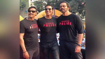 Sooryavanshi: Akshay Kumar, Ajay Devgn Participate In The Mumbai Police Marathon, Akshay Kumar Cracks A RAD Police Joke