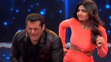 Bigg Boss 13: Shilpa Shetty's Marriage Taunt Makes Salman Khan Cry Like A Baby  - VIDEO