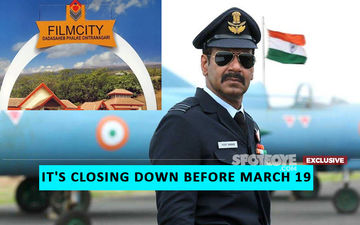 Ajay Devgn Takes A U-Turn, 350 People From His Film, Bhuj: The Pride Of India Set Sent Back Home: Film City CLOSED- EXCLUSIVE