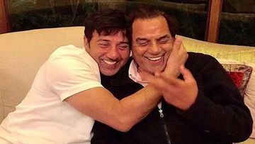 Wait What- Sunny Deol Was Once A Body Double For Papa Dharmendra? Throwback Pic Inside