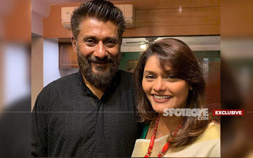 Coronavirus Scare: Vivek Agnihotri And Wife Pallavi Joshi Initiate Awareness Drive Amongst Their Building's Househelp- EXCLUSIVE