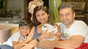 Shilpa Shetty And Daughter Samisha Shetty Kundra Complete First Milestone Of 40 Days; Seek Blessings At Home In Quarantine