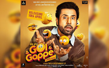 Binnu Dhillon Gets Fans Hooked With New Character Poster Of 'Golgappe'