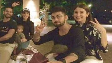 Virat Kohli-Anushka Sharma Enjoy A Bike Ride With Shikhar Dhawan; This TB Pic Is All Things LIT
