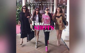FIRST LOOK Out Of Four More Shots Please 3 With A Twist; Starring Kareena Kapoor Khan And Her Girls Karisma-Malaika-Amrita