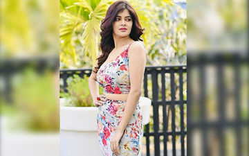 Madhumita Sarkar Is Looking Stunning In Blue Coloured Gown