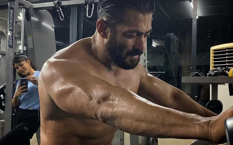 Salman Khan Gets Clicked 'Chori Chori Chupke Chupke' By A Sneaky Jacqueline Fernandez; Spotted Sweating It Hard In The Gym At Panvel Farmhouse