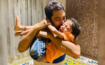 Soham Chakraborty Spends Time With His Son During Quarantine Days