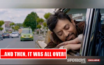 Irrfan Khan's Final Shot- Closed Eyes And Contented Face- Will Give You Goosebumps; How Can Something Be So Poignant? EXCLUSIVE