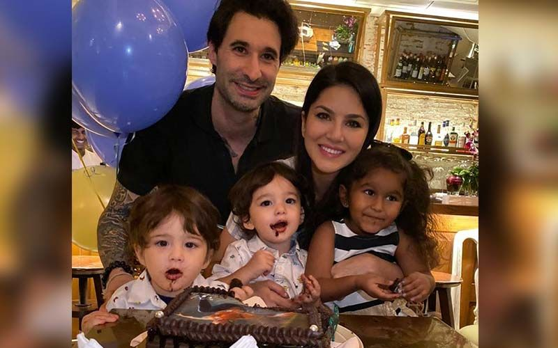 Happy Birthday Sunny Leone: Mama Bear's Sweetest Pics With Her Babies
