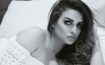 Himanshi Khurana Is The Queen Of Timeless Black And White Clicks, Check Out Her Dreamy Looks
