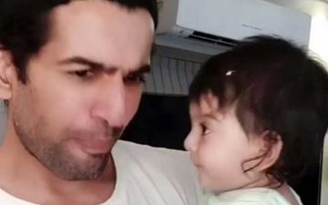 Jay Bhanushali Expresses Concern Over Baby Girl Tara's Nails That Need URGENT Trimming In This Hilarious TikTok Video