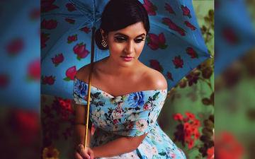 Rafiath Rashid Mithila Looks Beautiful In Blue Coloured Floral Dress
