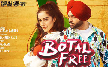Jordan Sandhu's New Song 'Botal Free' Is Out Now