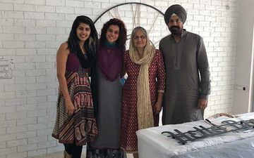 Taapsee Pannu Recalls Memories When Her Family Reunited To Perform A Paath At Her New Mumbai Home; Shares A Throwback Pic