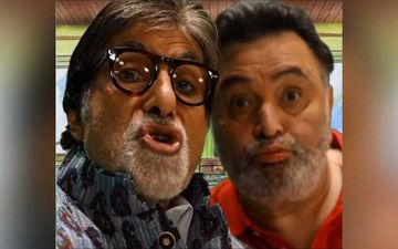 Amitabh Bachchan Is Missing Late Rishi Kapoor To Bits; Hails His Amazing Lip-Syncing Skills; Shares A Jolly Pic Of The Actor
