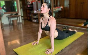 International Yoga Day: Kareena Kapoor Khan Shares Her Fitness Mantra: 'More Stretching, Less Stressing'; Posts A Hot Pic As She Practices Yoga