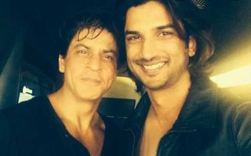 When Late Actor Sushant Singh Rajput Imitated Shah Rukh Khan On His TV Show And Left The Superstar Impressed-WATCH