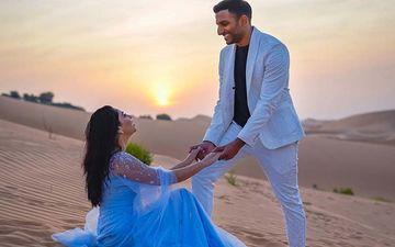 Sonalee Kulkarni Finally Reveals The 007 Style Engagement Photoshoot