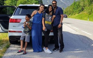 Happy Birthday Kajol: 5 Pictures Of The Actress With Her Hubby Ajay Devgn And Kids Nysa- Yug That Prove She Is A Family Person At Heart