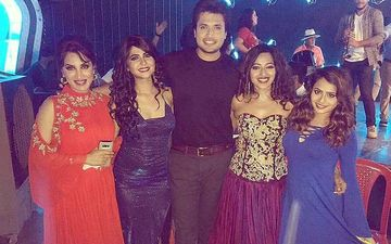 Dil Dosti Deewangi: Chirag Patil Shoots With Smita Gondkar, Veena Patil And Other Gorgeous Beauties