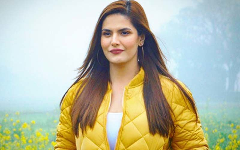 Zareen Khan Speaks Out Against Domestic Violence, Shares A Post On Instagram