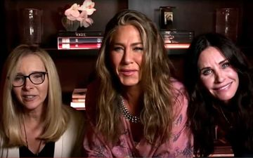 Emmys 2020: FRIENDS Jennifer Aniston, Courteney Cox And Lisa Kudrow Reunite; Make A Special Appearance-WATCH