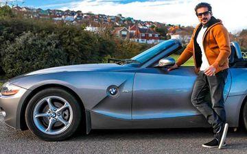 Catch Pushkar Jog And Amruta Khanvilkar Driving Down Brighton In This Top-Down BMW