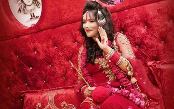 Bigg Boss 14: Godwoman Radhe Maa Makes An Entry In The Controversial House In Her Bridal Avatar- VIDEO