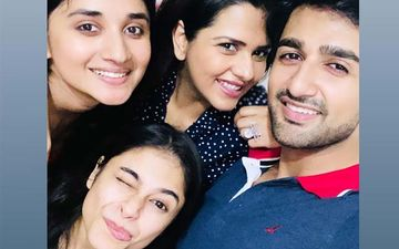 Guddan Tumse Naa Ho Paayega Nishant Malkani Gets Birthday Surprise By Co-Stars Kanika Maan And Dalljiet Kaur- Pictures