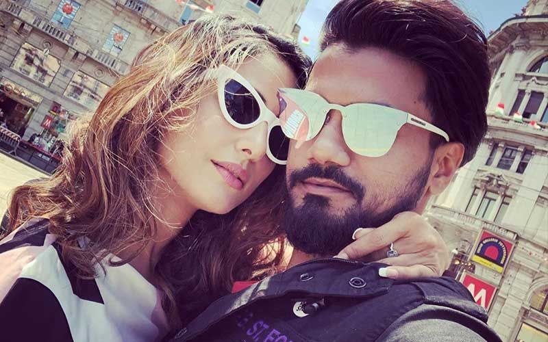 Hina Khan's Beau Rocky Jaiswal Tells Her She's The Most Desirable Ever; Check Out His Smitten-Kitten Post HERE