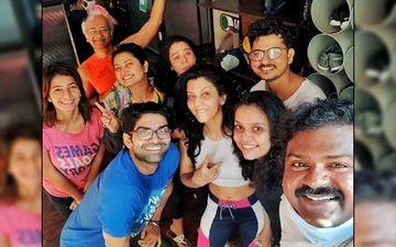 Maadhavi Nemkar, Prajakta Mali, Anita Date Kelkar And Others Capture Fitness And Friendships Of Marathi Celebrities All In One Frame