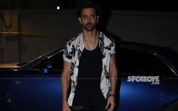 Hrithik Roshan Loses His Cool With The Doorman At A Hospital While With Sons Hridhaan And Hrehaan-REPORT