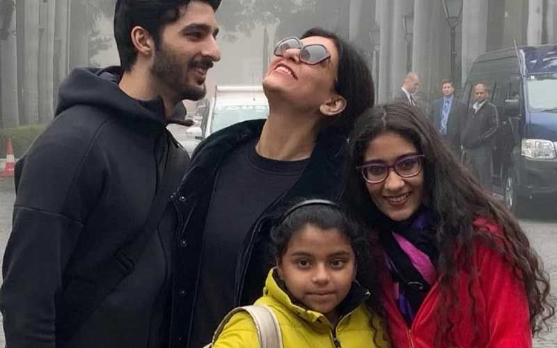 Sushmita Sen's Daughter Renee Opens Up About Her Mom's Beau Rohman Shawl; Reveals They're Learning About His Culture And Family-Deets INSIDE