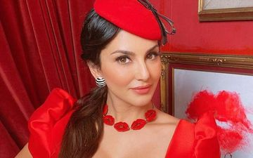 Sunny Leone Is Red Hot In These Smashing Outfits In Her Favourite Colour; Don't Miss These Pictures