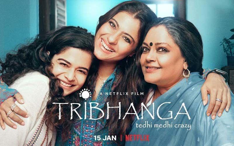 Teaser Of Renuka Shahane's Tribhanga Starring Mithila Palkar, Vaibhav Tatwavadi, And Kajol Out Now