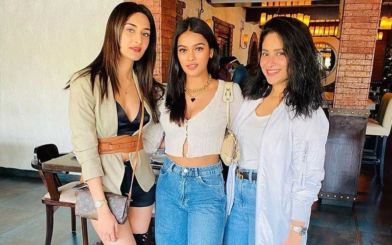 Sonyaa Ayodhya Drops A Sassy Pic With Erica Fernandes And Shubhaavi Choksey; Calls Them Her 'Girl Gang'
