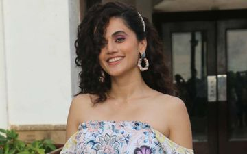It's A Working Valentine's Day For Taapsee Pannu And Her Beau