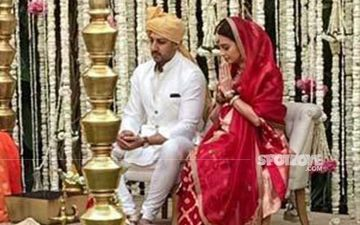 Newly Weds Dia Mirza And Vaibhav Rekhi Step Out Together For The First Time; Actress Says 'Sir Bohot Shy Hai' As Paps Request Him For Photos-Video
