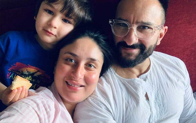 Kareena Kapoor Khan, Saif Ali Khan And Taimur Arrive Home With The Newborn; Bebo Waves At Paps From A Distance Amidst Tight Security
