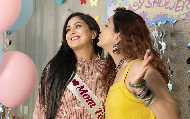 Harshdeep Kaur Gets The 'Sweetest' Baby Shower Surprise, Courtesy Her Friend Neeti Mohan- INSIDE PICS