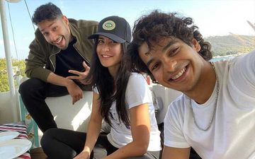 Katrina Kaif Drops Cool Pics With Siddhant Chaturvedi And Ishaan Khatter; Actor Enjoys Lunch With Her Team Phone Bhoot