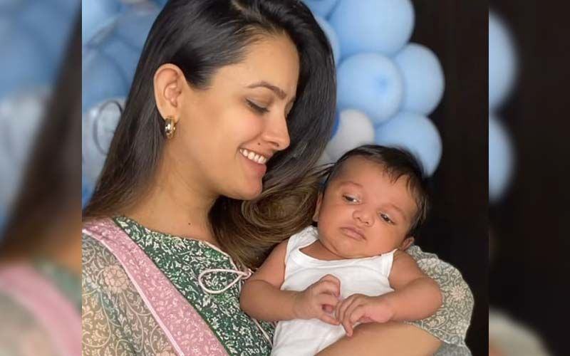 New Mommy Anita Hassanandani Treats Fans With An Awwdorable Picture Of Her Son Aaravv; Check It Out