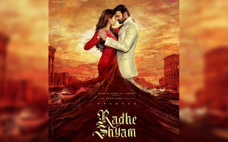 Radhe Shyam: Prabhas Shares A New Poster Featuring Pooja Hegde And Him In A Snow-Covered Romantic Background