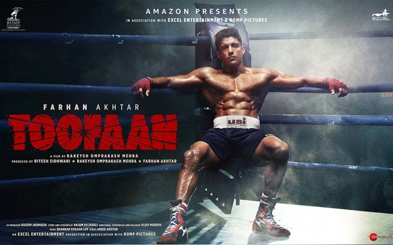 Toofaan Teaser Out: Farhan Akhtar Wows Netizens With His Badass Look,  Promises To Deliver A Performance To Remember; Mrunal Thakur Shines Bright