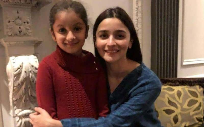 """Mahesh Babu's Daughter Sitara Wishes Alia Bhatt On Her Birthday; Calls Her """"Favourite Actress"""""""